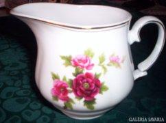 Rózsás kiöntő  11 x 12 cm