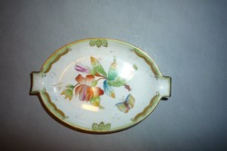 Régi Viktória Herendi porcelán hamutál tálka