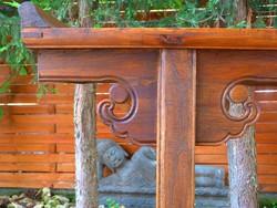 Igazi kínai oltár asztal, konzolasztal, asztal, ázsiai