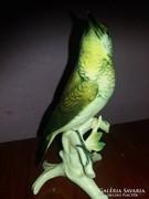 Szép kecses ENS porcelán madár