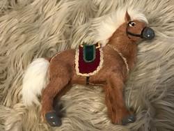 Régi ló játék valódi szőr