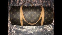 Louis Vuitton Papillon bőrtáska