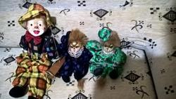 Régi porcelánfejű babák, szépek