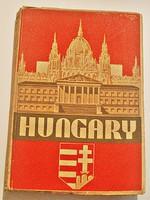1932 Londoni kiadású könyv Magyarországról