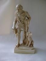 Elefánt vagy rozmár csontból készült Szinopéi Diogenész szobor