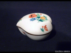1288 K1 Antik óherendi szív alakú bonbonier