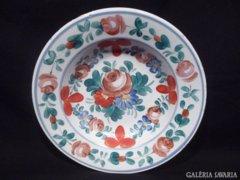 3279 L2 Antik hollóházi porcelán falitányér