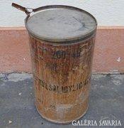 5514 Hatalmas régi gyógyszeres hordó 71 cm