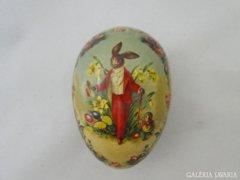 6113 Régi papírmasé húsvéti tojás