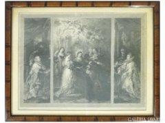 6214 Antik Rubens acélmetszet