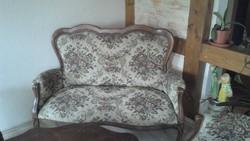 Barokk mintás szalon  ülő garnitűra