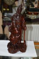 Kínai fa faragott figura