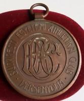 1931.Budapesti Egyetemi Athletikai Club versenydíja, Virtvti et fortitvdini Br díjérem mérete:34,5mm