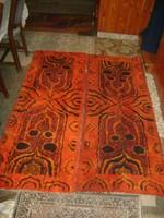 """Két darab retro suba szőnyeg, faliszőnyeg, falvédő """"Soproni Szőnyeggyár"""""""