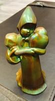 Zsolnay Eozin Antik Figura