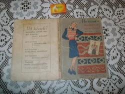 M. Recht Márta: Mit kössek - régi könyv