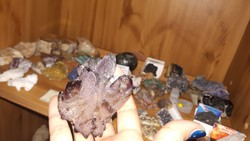 Ametiszt nyers kristály Brazíliából