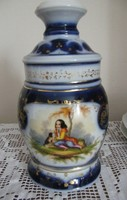 19. sz. Meisseni (?) gyönyörű porcelán, lámpatest! 27 cm