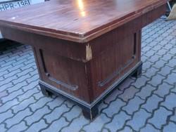 Antik asztal jobban ízlik az étel ónémet étkező 105x125/235 garnitúrában nagy tálalóval és külön is