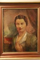 Gábor Jenő - Wágner Éva portréja
