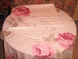 Különleges Shabby Chic vintage rózsás ágyneműgarnitúra