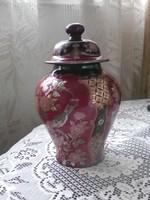 Kéttűzű Zsolnay 1.o váza