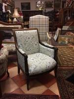 XVI. Lajos fotel Provence stílusban felújítva