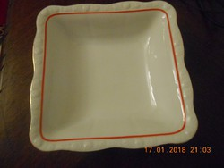 Antik Zsolnay porcelán köretes, pörköltes / Éva sorozat