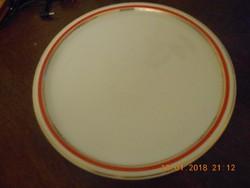 Zsolnay porcelán nagy kerek kínáló tál 30 cm