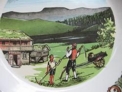 Jelenetes norvég fali dísz Stavangerflin