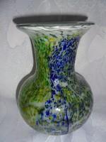 Szépséges muránoi szakított üvegváza