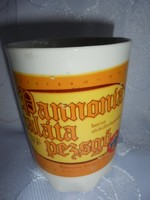 Zsolnay porcelán sörös csésze