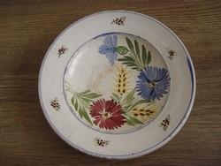 Régi Hódmezővásárhelyi Sz.J.monogramos fali tányér