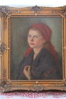 Szűcs Pálma - Női portré