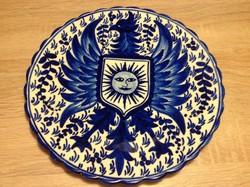 Kézzel festett Tenerife -i ajándék tányér