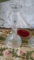 Öntött üveg gyertyatartók