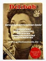 1943 december 18  /  DÉLIBÁB  /  RÉGI EREDETI MAGYAR ÚJSÁG Ssz.: 1458