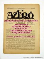 1923 október 15  /  AZ ERŐ  /  RÉGI EREDETI MAGYAR ÚJSÁG Ssz.: 1419