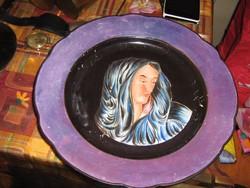 Igazi ritka Herend tányér gyűjtői darab jelzett