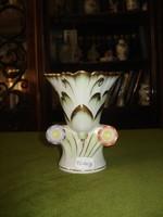 Herendi viktória mintás váza, 12,7cm