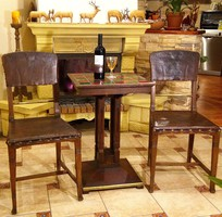 Antik, Szecessziós dáma asztal, hozzá tartozó két darab szék