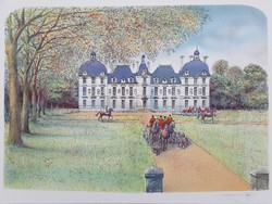 Francia művész: Vadászat előtt