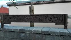Nagyméretű, antik kínai faragás (4)!