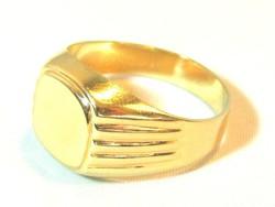 Férfi pecsétgyűrű (kecs-Au70509)