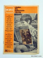 1971 július 19 25  /  MRT  /  RÉGI EREDETI MAGYAR ÚJSÁG Szs.:  1716