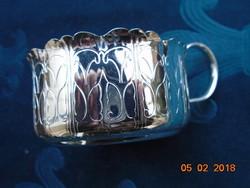 QUIST német ezüstözött pohártartó