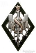 II.RP.,V. Szibériai Lövészhadosztály, lengyel tiszti jelvény