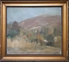 Csurgói Máté Lajos eredeti festménye (1957)