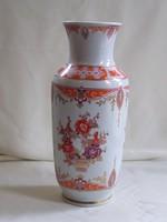 Szép hibátlan kézzel festett Volkstedt Thüringiai váza