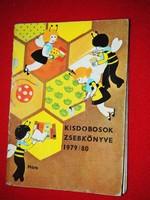 Kisdobosok zsebkönyve! 1979/80, igazi retro ritkaság!!!